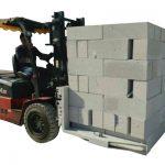 Betonske cigle za beton / hidraulični podizač