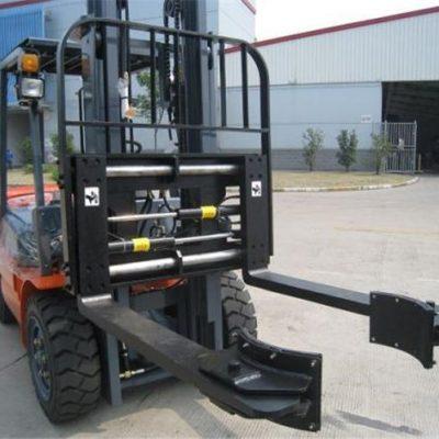 Hidraulični viličari - Priključci za sinkrono stezanje za građevinski materijal